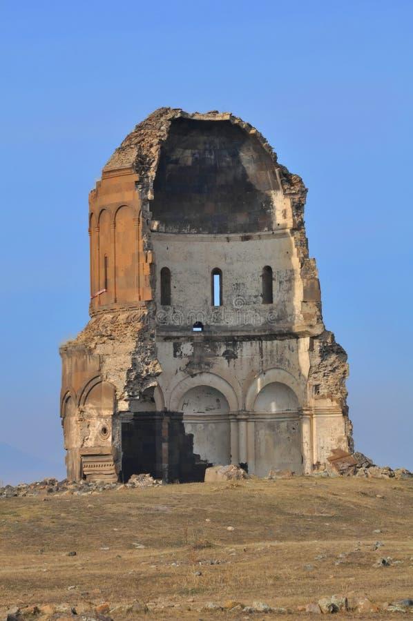kościół rujnujący turkish obrazy stock