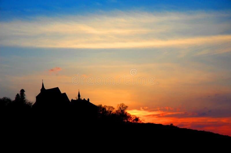 kościół słońca zdjęcie stock