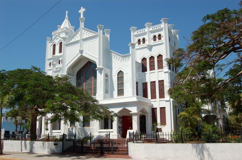 kościół saint pauls zachodni klucza obraz royalty free