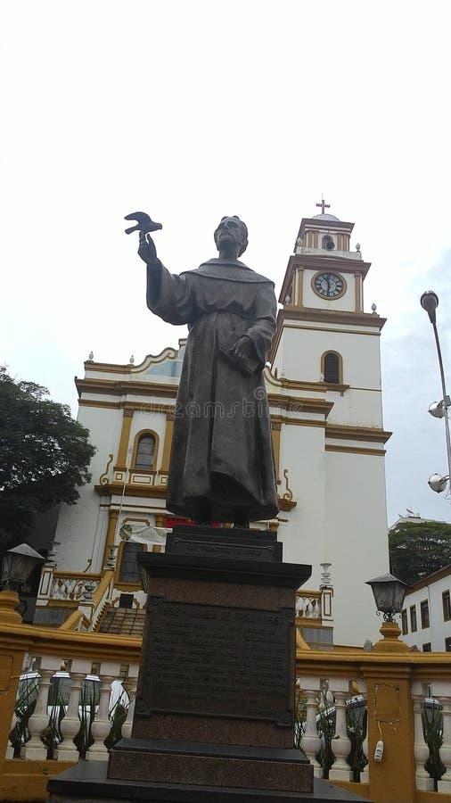 Kościół San Lorenzo, Brazylia, minas gerais obrazy stock