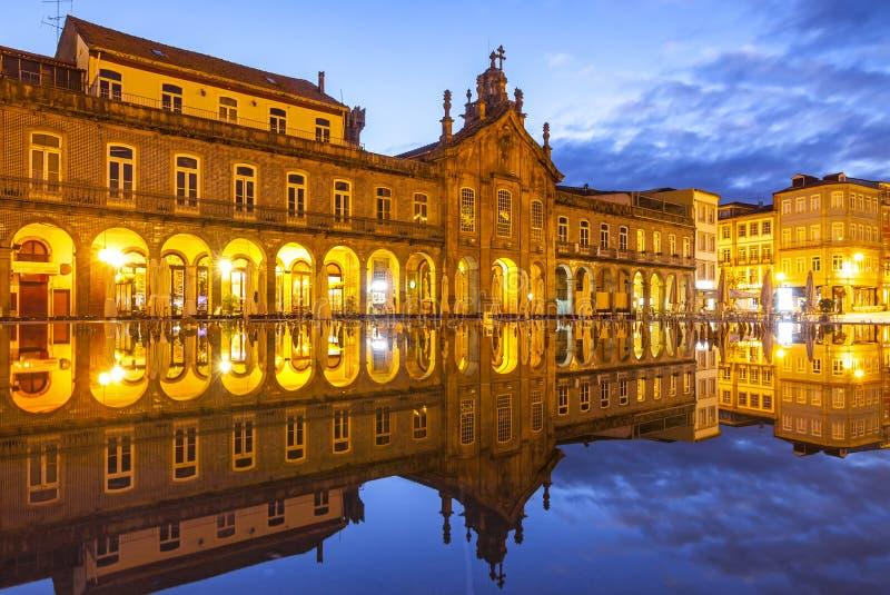 Kościół San Marcos Igreja robi szpitalowi w Braga, Portugalia zdjęcie stock