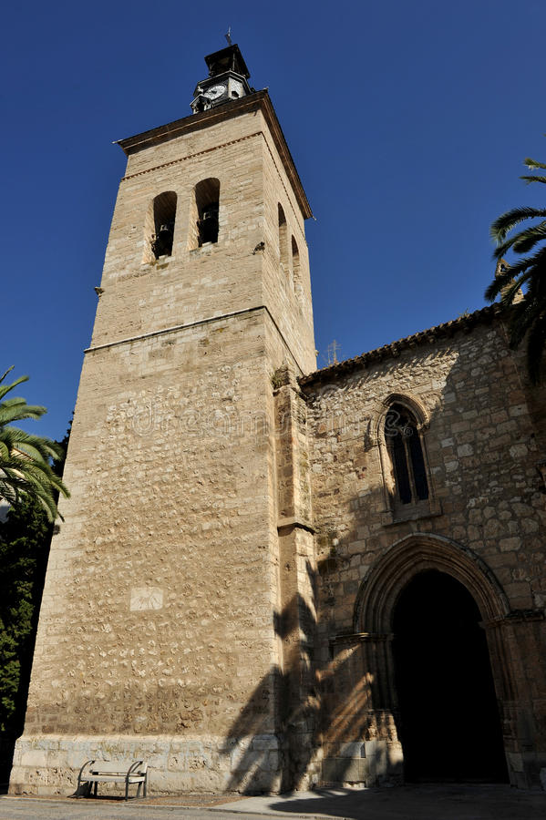 Kościół San Pedro, Ciudad Real, Hiszpania fotografia royalty free