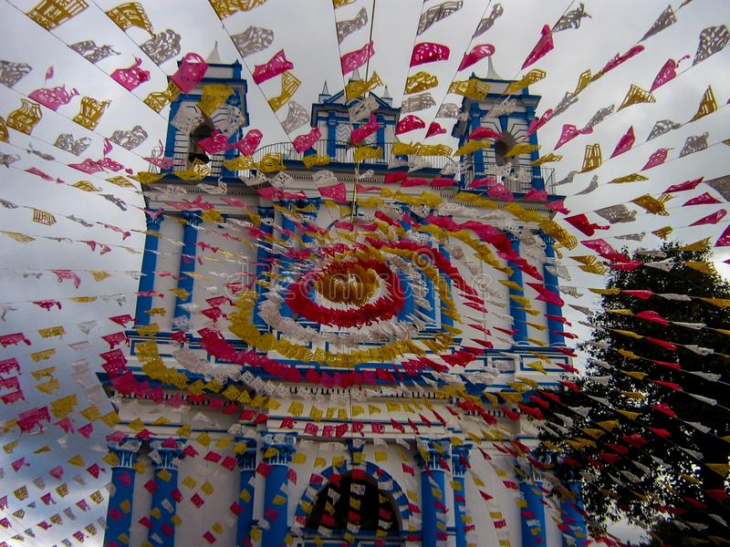 Kościół Santa Lucia, San Cristobal De Las Casas, Chiapas, Meksyk zdjęcia royalty free