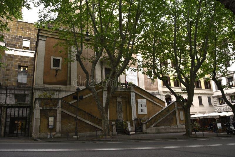 Kościół Santa Maria della Concezione dei Cappuccini w Rzym Włochy obrazy royalty free
