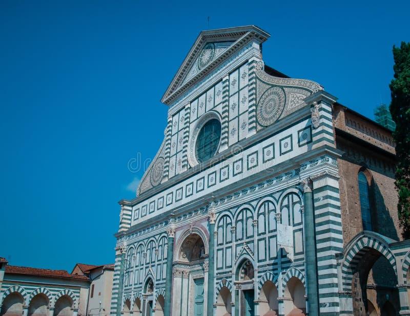 Kościół Santa Maria nowele - sławny punkt zwrotny Florencja Włochy Europa zdjęcia stock