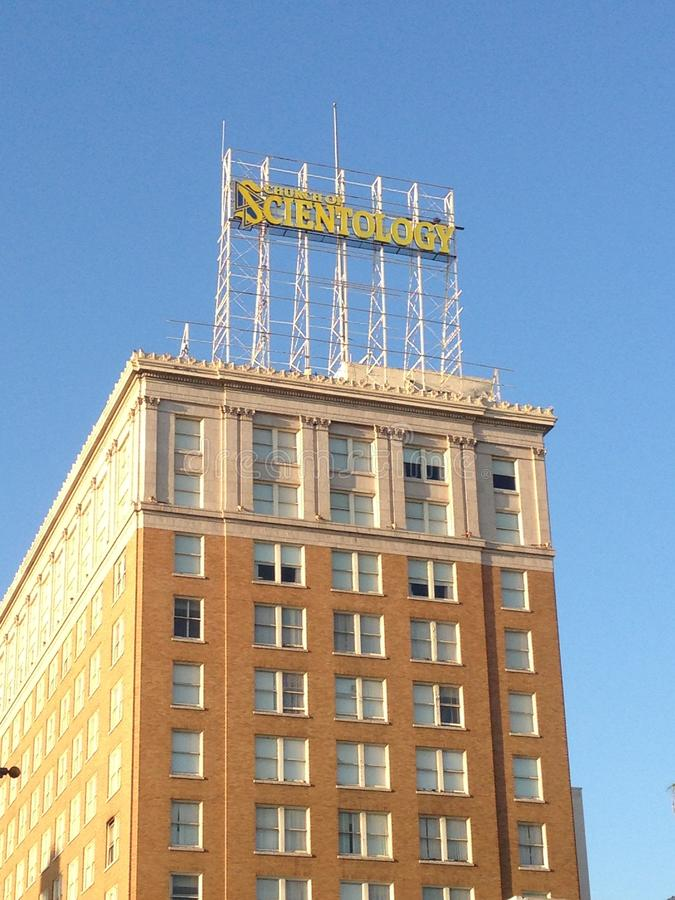 Kościół Scientology budynek, Hollywood obraz stock