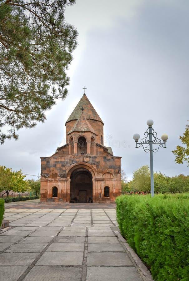 Kościół Shoghakat w Echmiadzin obraz stock