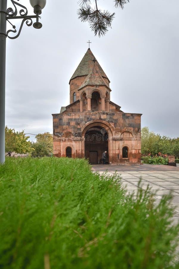 Kościół Shoghakat w Echmiadzin obrazy stock