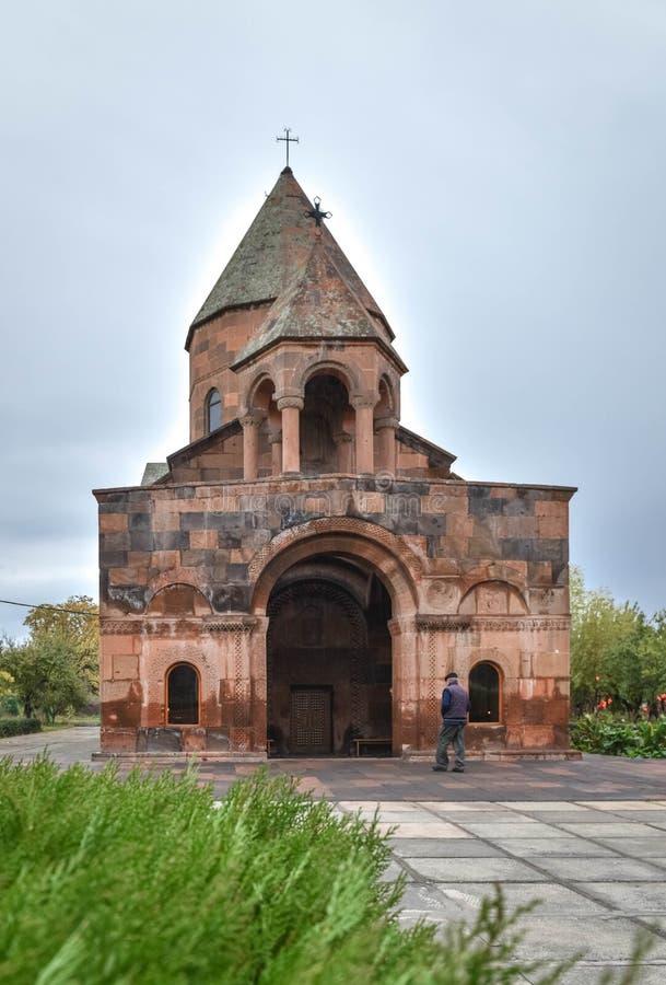 Kościół Shoghakat w Echmiadzin fotografia stock