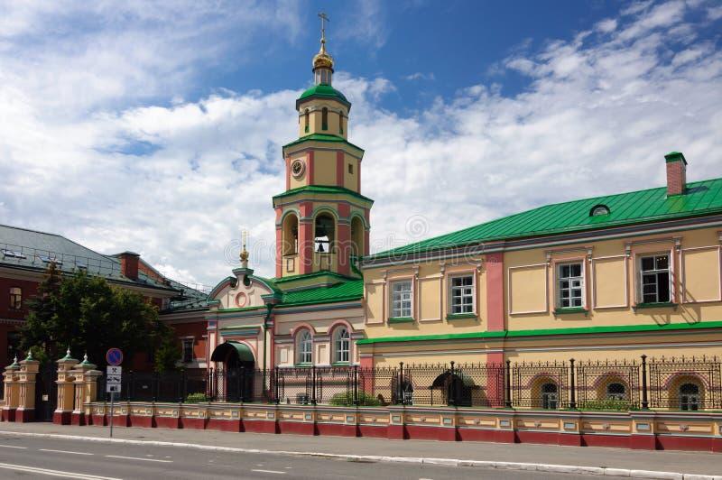 Kościół spadek Święty duch, Kazan, Rosja zdjęcia royalty free