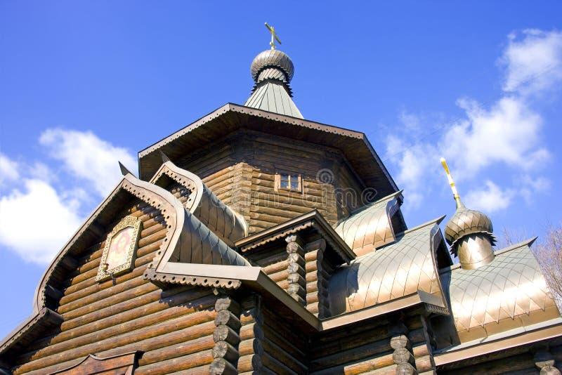 Kościół St Alexis metropolita Moskwa obrazy royalty free