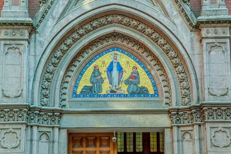 Kościół St. Anthony, Istanbuł fotografia stock