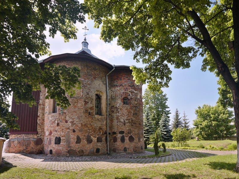 Kościół St Boris, Gleba i Kalozhskaya w lecie zdjęcie royalty free
