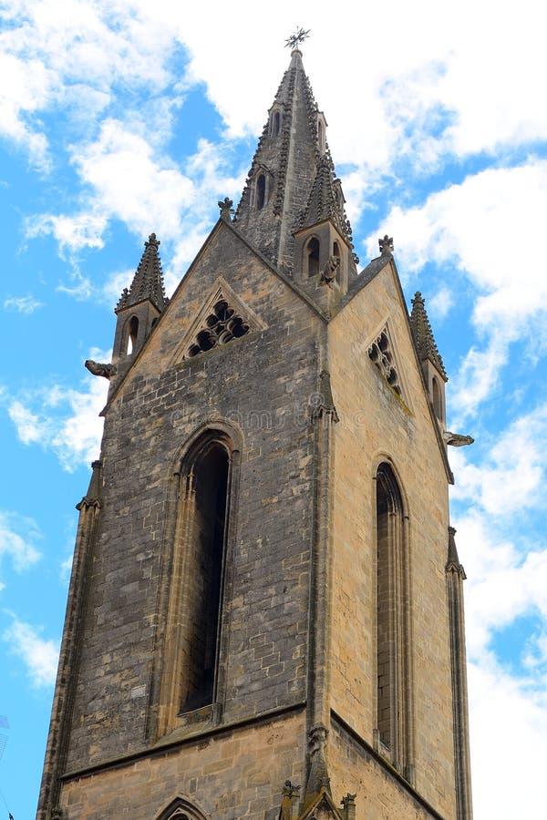 Kościół St de, Provence, Francja obraz stock
