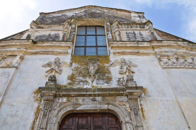 Kościół St. Filippo Neri. Tursi. Basilicata. Włochy. zdjęcie royalty free