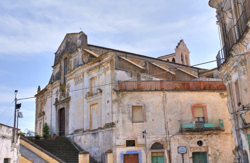 Kościół St. Filippo Neri. Tursi. Basilicata. Włochy. obraz royalty free