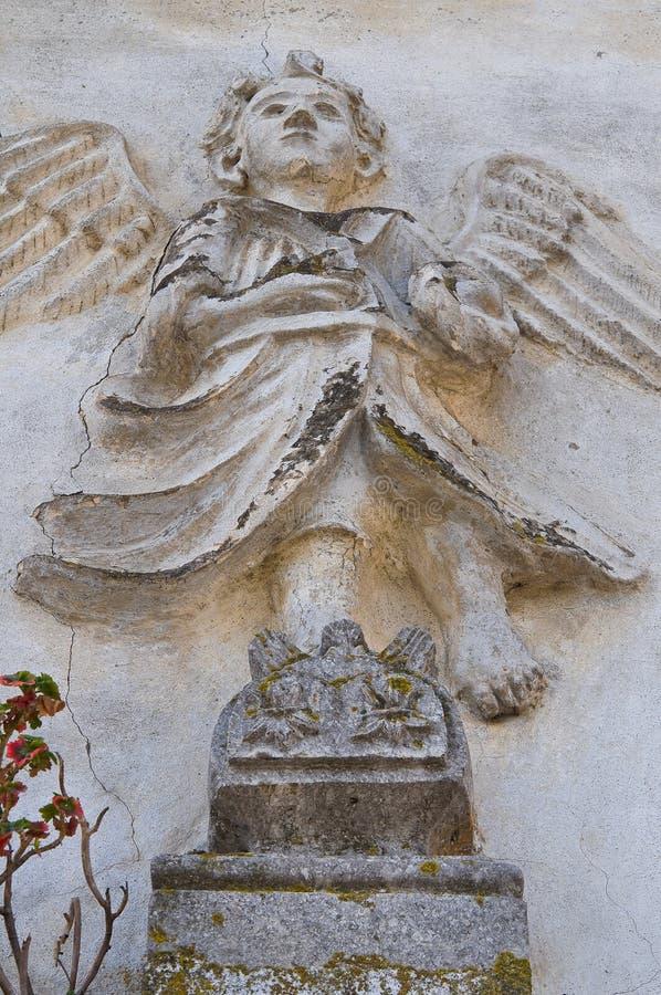 Kościół St. Filippo Neri. Tursi. Basilicata. Włochy. obraz stock