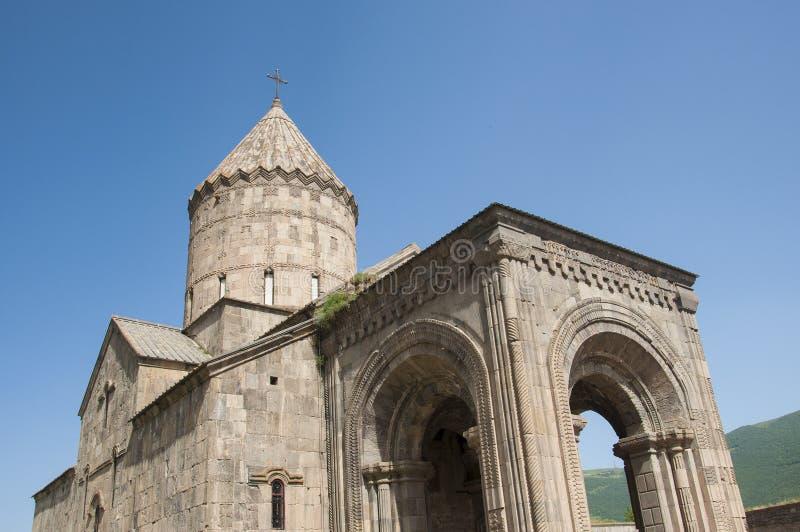 Kościół St Grigor Lusavorich, monaster Tatev Armenia obraz royalty free