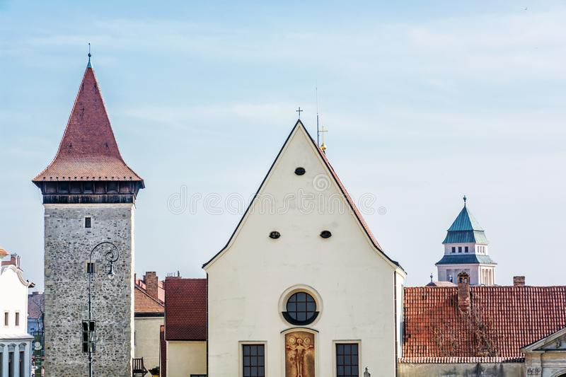 Kościół St John baptysta, Znojmo, republika czech obraz royalty free