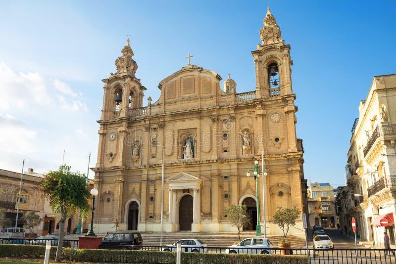 Kościół St Joseph w Msida valletta Malta zdjęcie stock