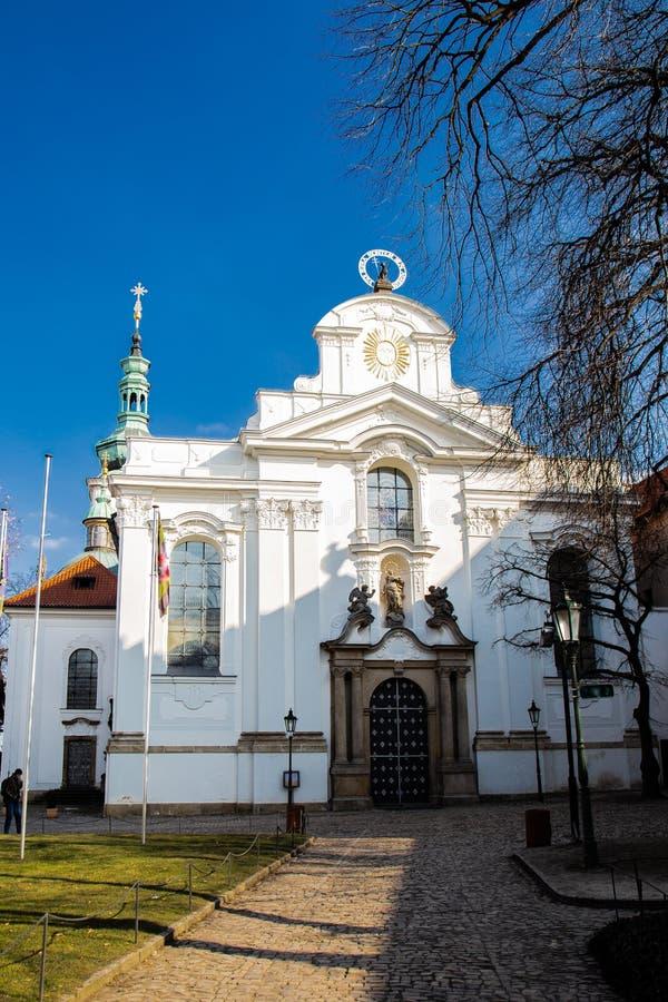 Kościół St Lawrance brąz na Petrine fotografia stock