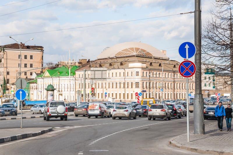 Kościół St Martin spowiednik, Aleksander Solzhenitsyn ulica, 15 obraz stock