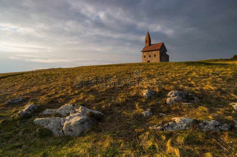 Kościół St Michael archanioł fotografia royalty free