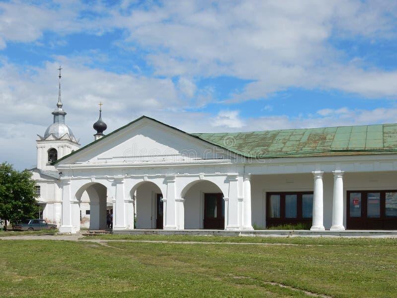 Kościół St Nicholas i Święty krzyż w Suzdal Rosja obraz royalty free