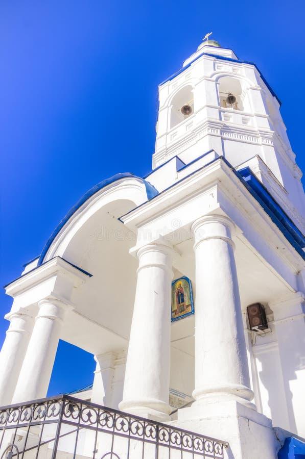 Kościół St Paraskeva Piątek Kazan Rosja fotografia stock