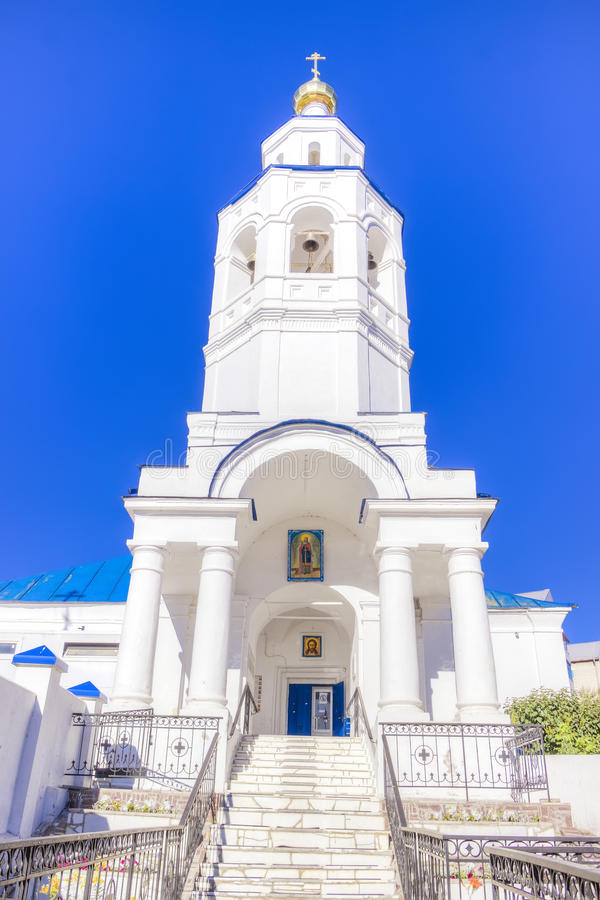 Kościół St Paraskeva Piątek Kazan Rosja obraz stock