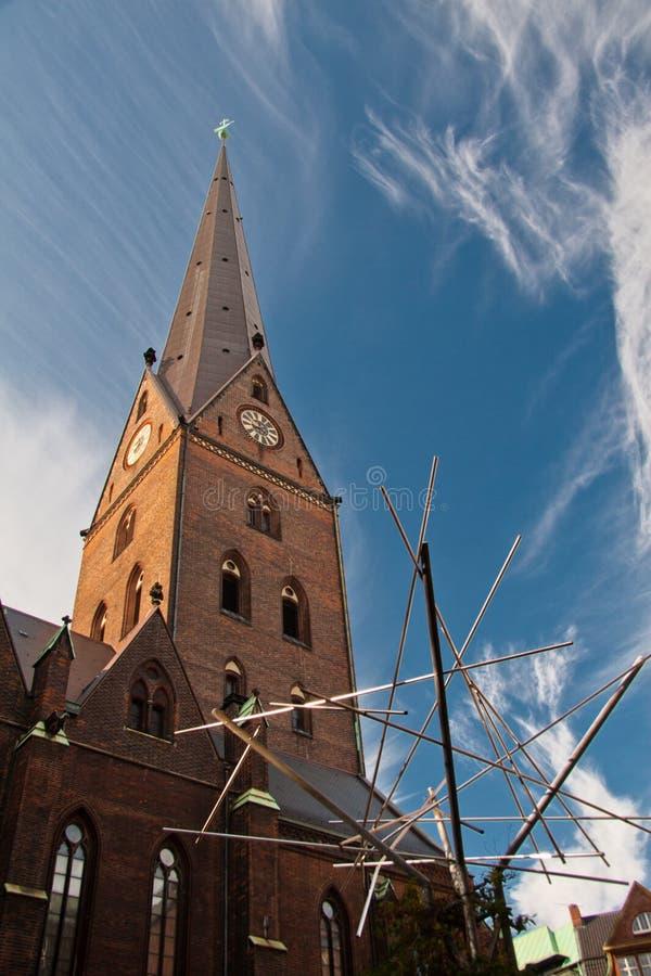 Download Kościół St. Petri W Hamburg, Niemcy Zdjęcie Stock - Obraz złożonej z hamburger, stary: 28961708