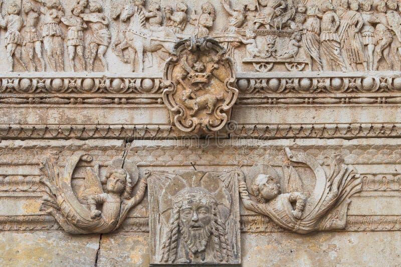 Kościół St. Sebastiano. Galatone. Puglia. Włochy. zdjęcie royalty free