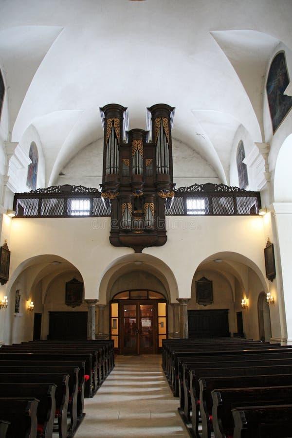 Kościół StMary ` s wniebowzięcie, Samobor, Chorwacja, 5 fotografia royalty free