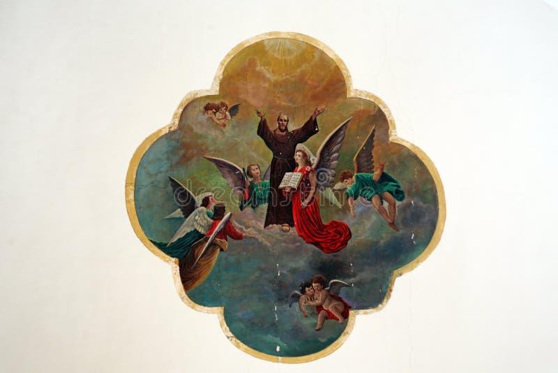 Kościół StMary s wniebowzięcie, Samobor, Chorwacja, 8 obraz stock