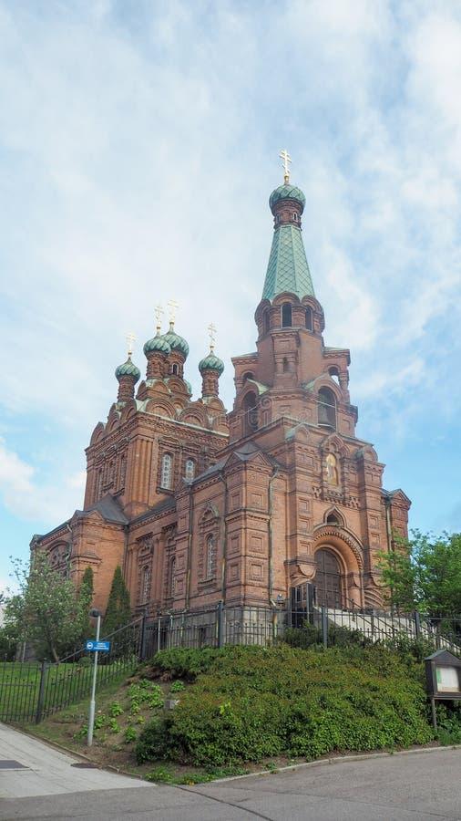 Kościół Tampere w Finland zdjęcie stock