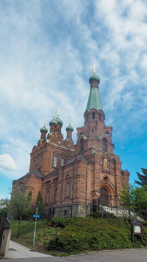 Kościół Tampere w Finland obrazy royalty free