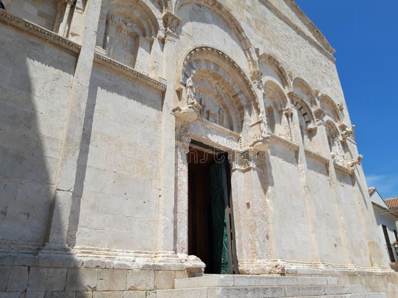 Kościół Termoli, w Molise, Włochy zdjęcie stock