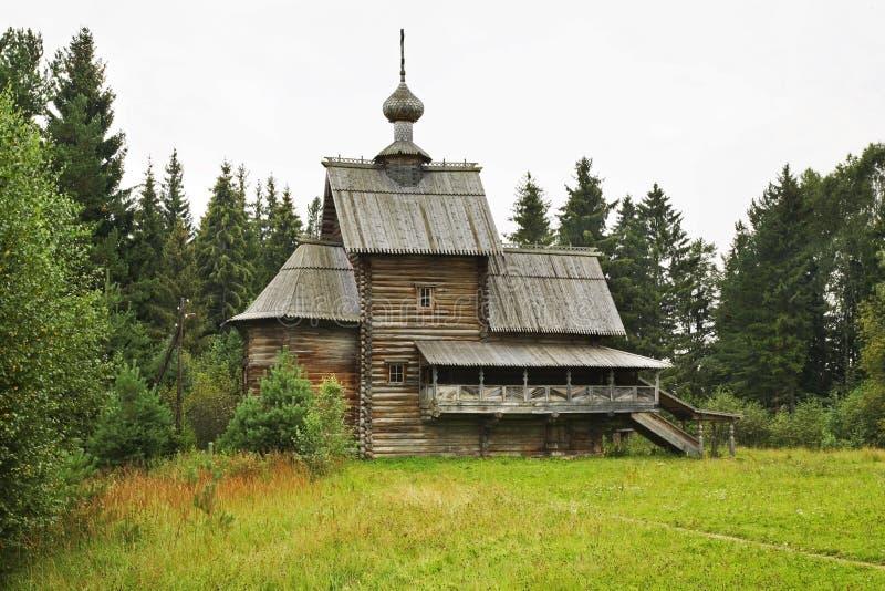 Kościół transfiguracja w Vasilevo (wniebowstąpienie) Rosja obrazy royalty free