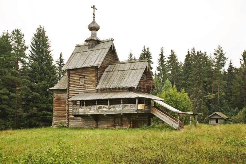 Kościół transfiguracja w Vasilevo (wniebowstąpienie) Rosja zdjęcie royalty free