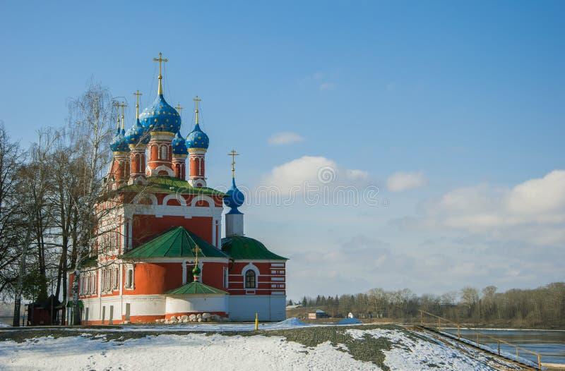 Kościół Tsarevich Dmitry obrazy royalty free