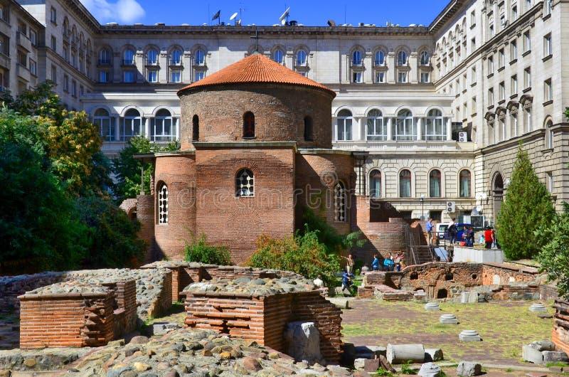 1360 kościół ustanawiający George monasteru serpukhov st vladychny rok był fotografia stock