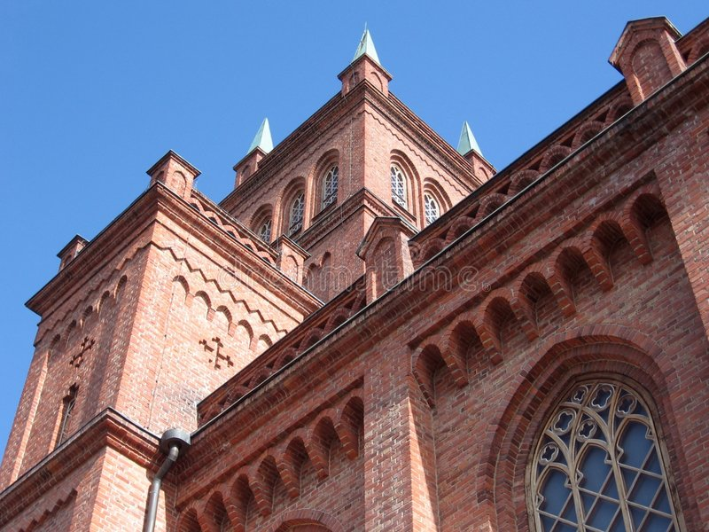 kościół vaasa zdjęcie royalty free