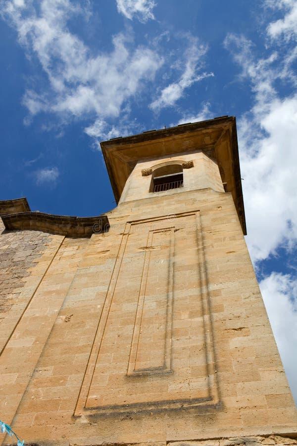 Kościół valldemossa zdjęcia stock
