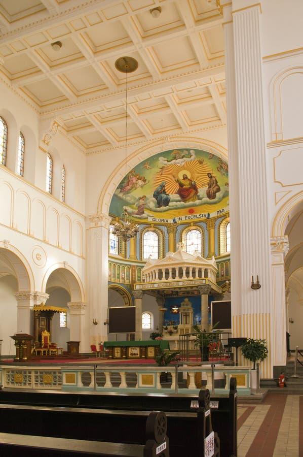 kościół w środku zdjęcie stock