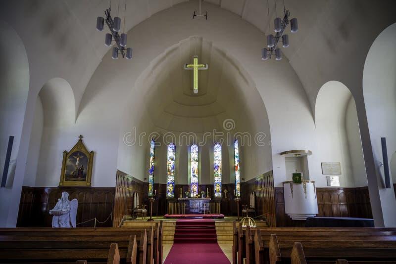 Kościół w Akureyri obrazy stock