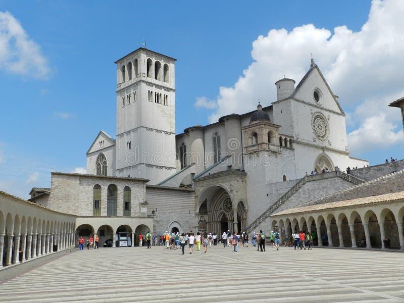 Kościół w Assisi fotografia royalty free
