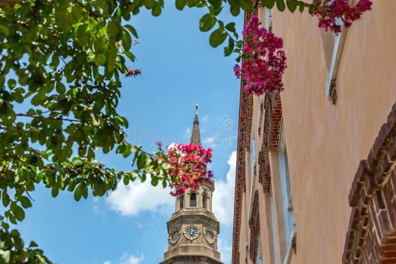 kościół w Charleston, SC zdjęcie royalty free