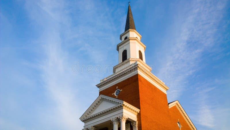 Kościół w Chattanooga fotografia royalty free