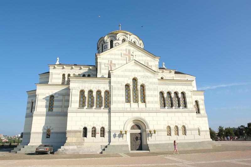 Kościół w Crimea obrazy stock