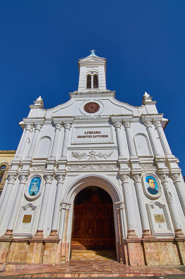 Kościół w Cuenca obrazy royalty free